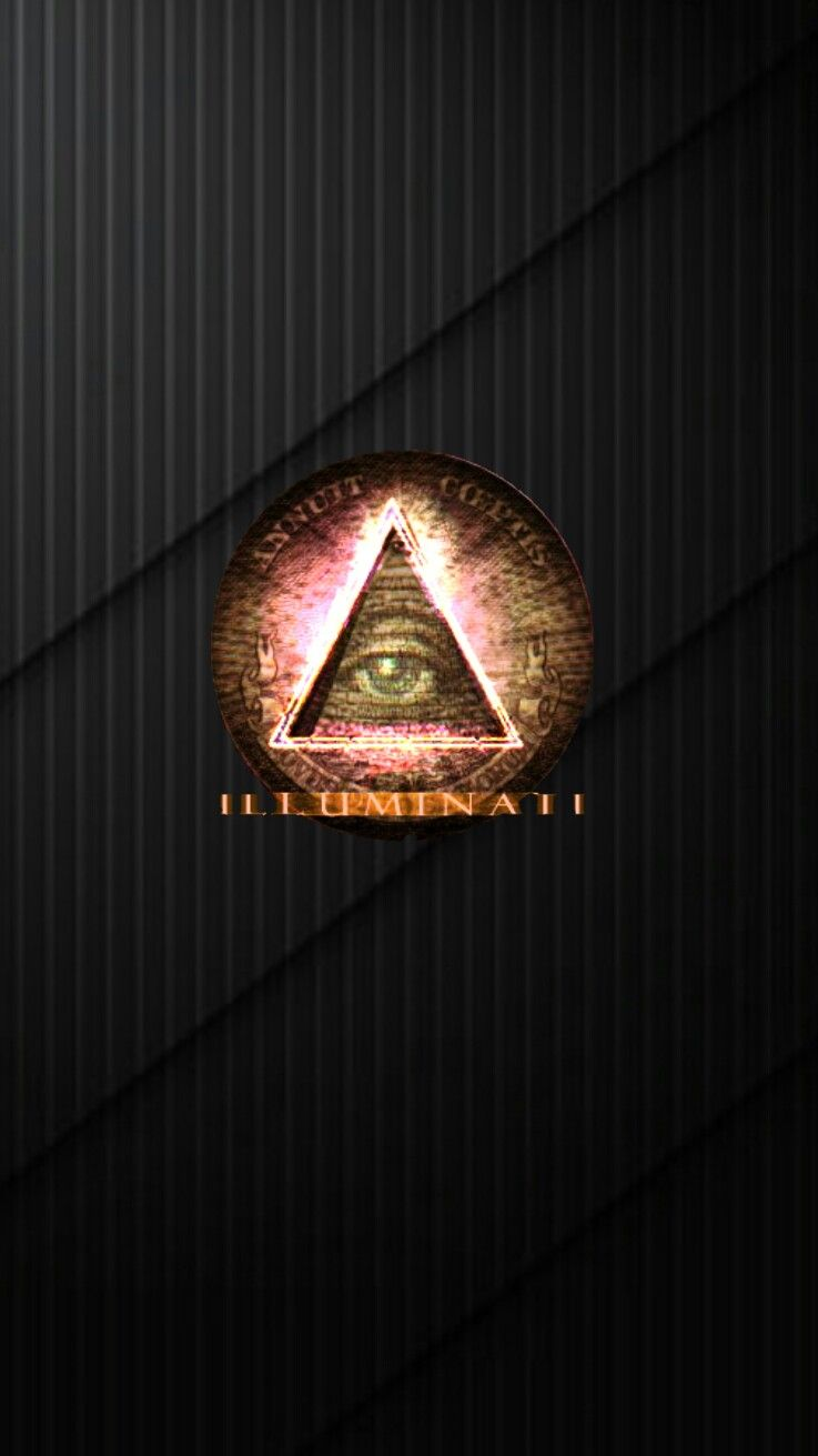Illuminati dark iPhone wallpaper | iPhone Black wallpapers | Pinterest | 世界 and イルミナティ