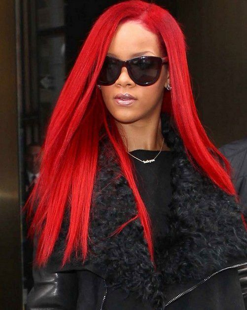 HOMECOMING HAIR TOP 10 STYLES Rihanna HairstylesRed