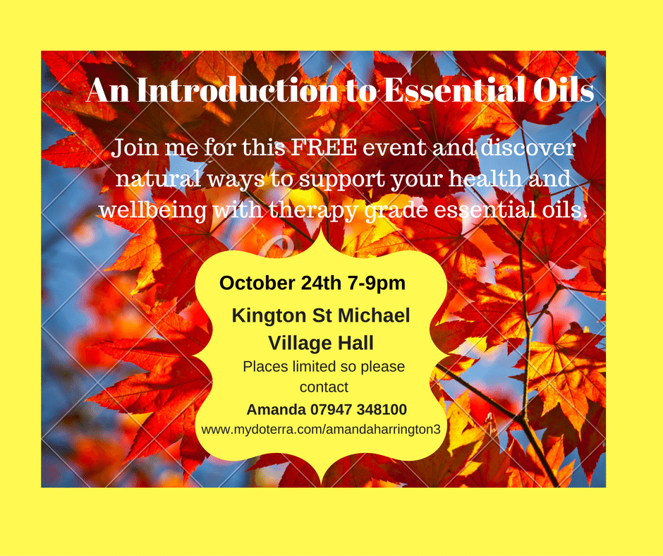 An Introduction to Essential Oils Join me for this FREE event and ...