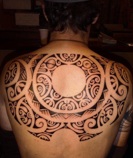 Maori Back Tattoo: Maori Tattoos Back Maori Tattoo On Back