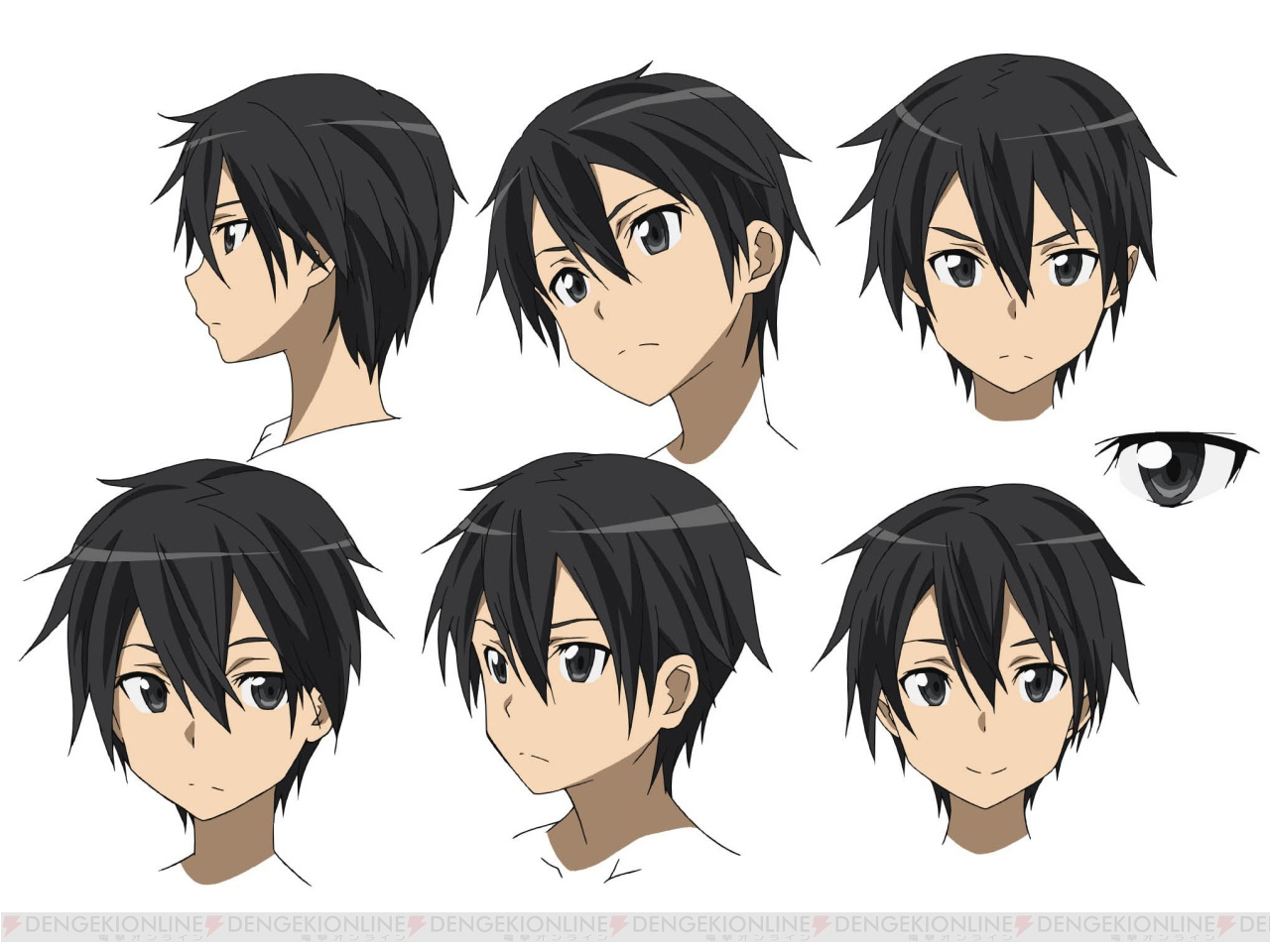 Design Anime Character Free : Character design kirito google search anime