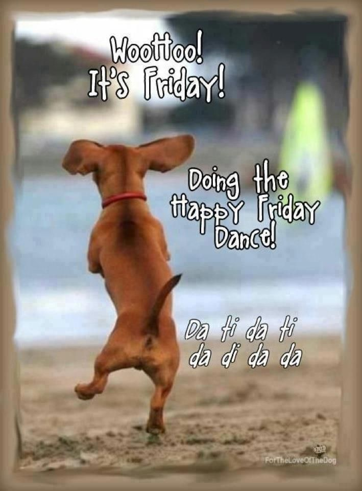Happy Friday! Are you all looking forward to the weekend