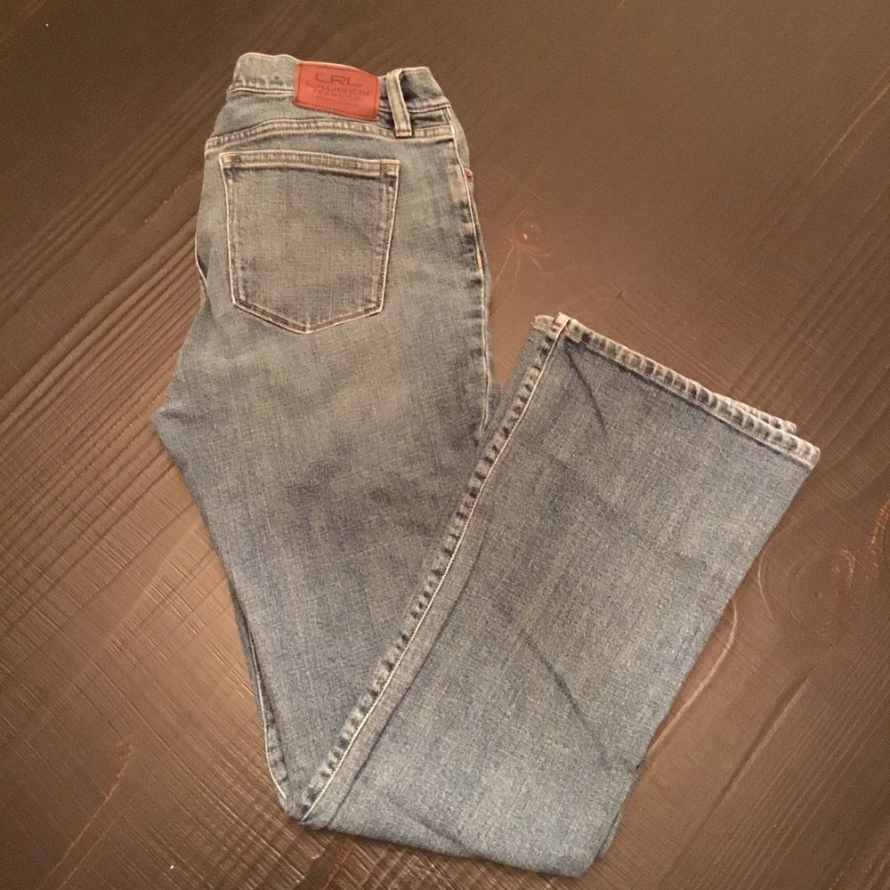 9c088a841 Ralph Lauren LRL Lauren Jeans Size 10 Co Womens Jean Denim Bootcut Mid Wash