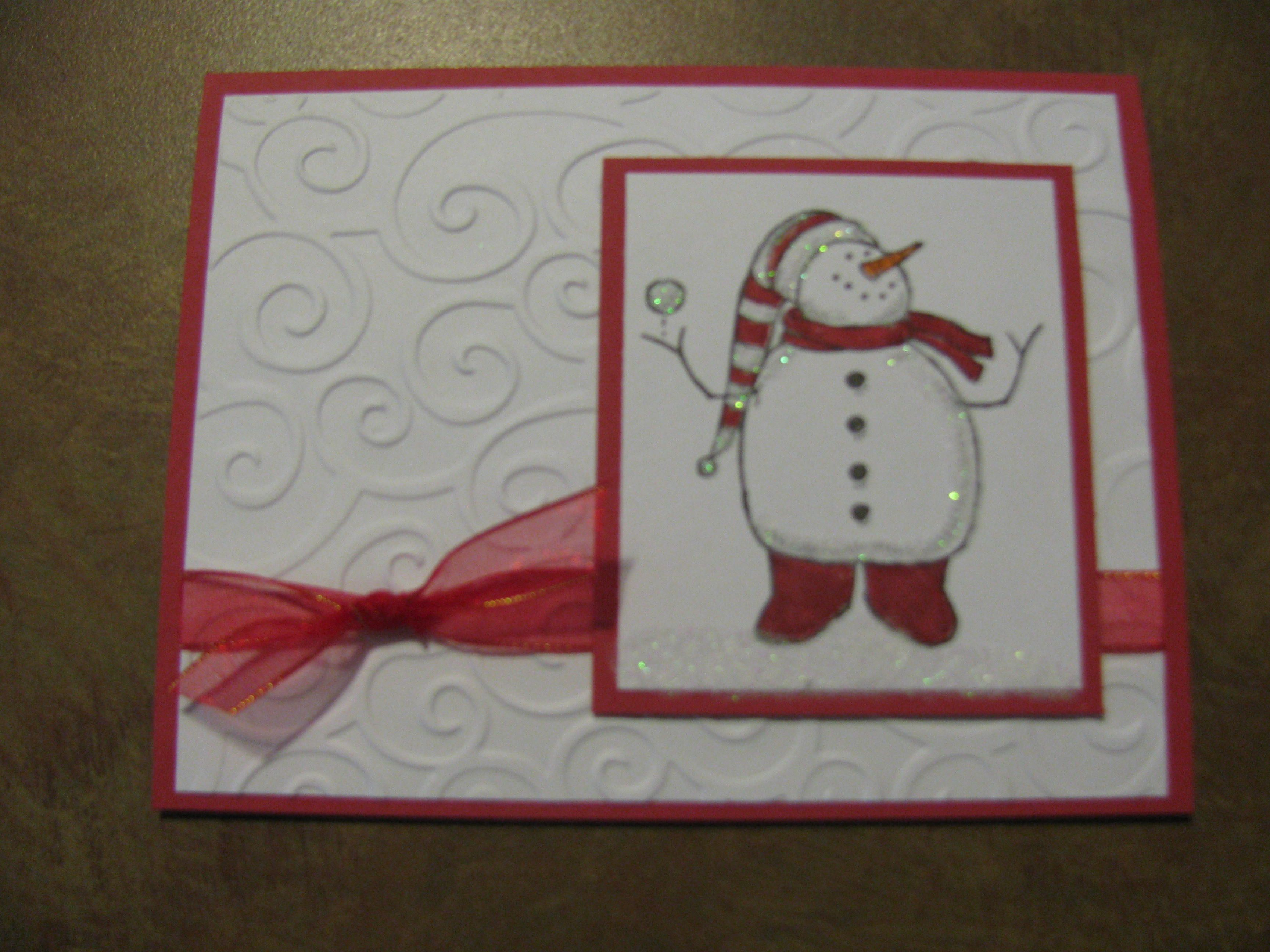Image detail for stampin up handmade christmas cards - Pinterest weihnachtskarten ...