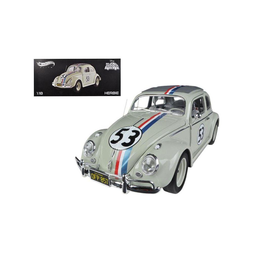 1963 Volkswagen Beetle The Love Bug Herbie 53 Elite Edition 1 18 Diecast Car Model By Hotwheels In 2021 Volkswagen Beetle Car Model Diecast Cars [ 1000 x 1000 Pixel ]