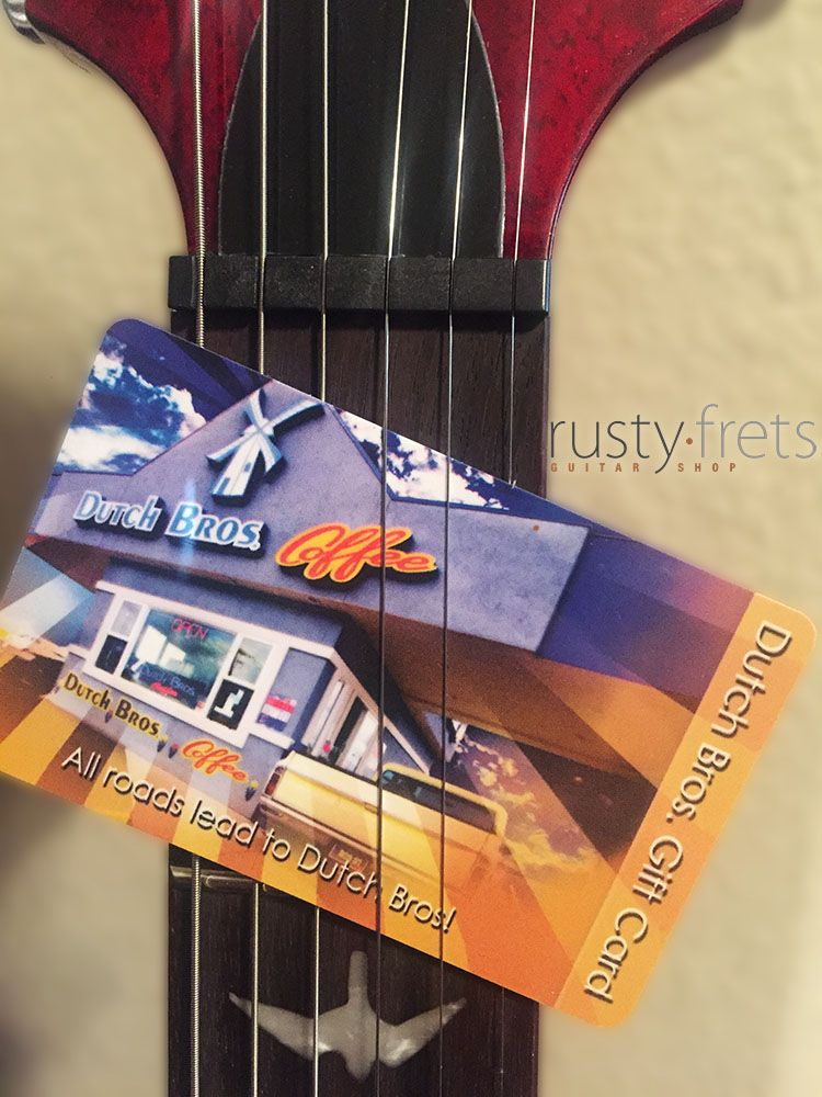 Happy monday! Next person to order a guitar or amp will get a $20 Dutch Bros. coffee card. Go! http://www.rustyfrets.com
