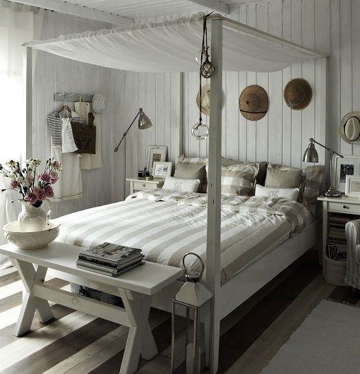 Cama con dosel ikea dormitorios pinterest beach - Cama con dosel ...