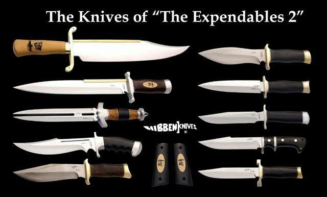 Mercenários 2 facas