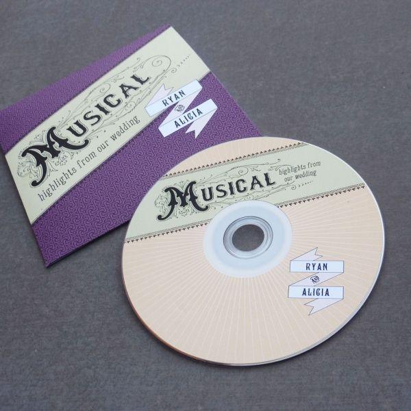 cds as wedding favors - brilliant