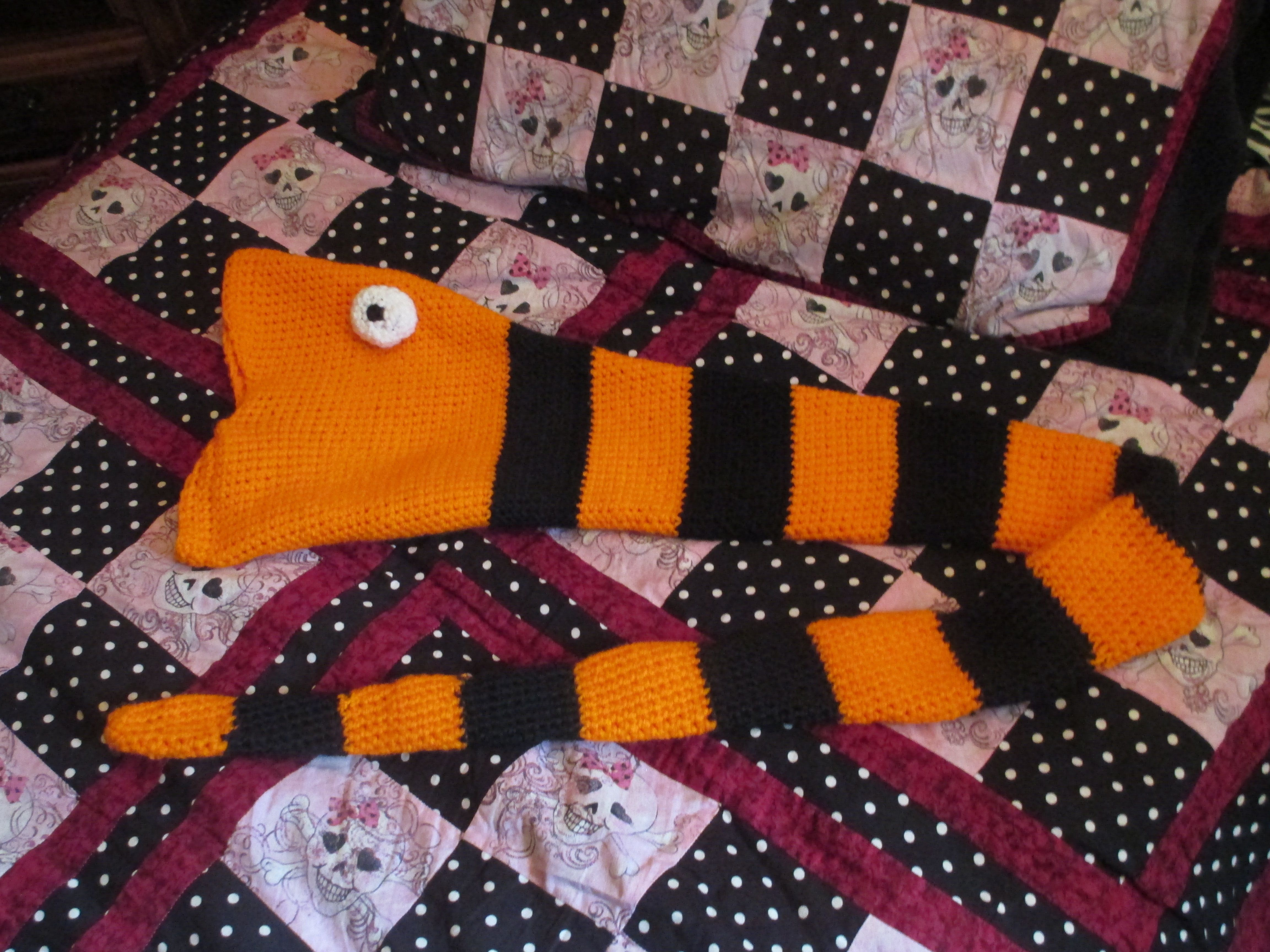 Snake hat/scarf inspired by The Nightmare Before Christmas. For sale ...
