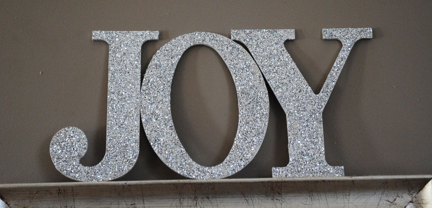 Cheap Metal Letters For Wall Christmas Silver Joy Holiday Glitter Wall Letters Christmas