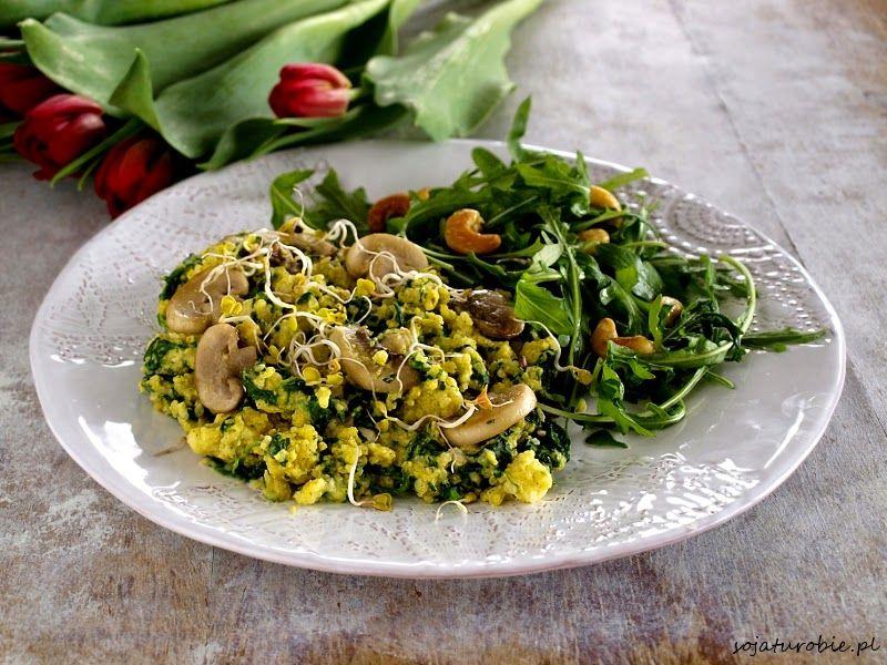 Jajecznica z kaszy jaglanej Recipes, Food, Scrambled eggs