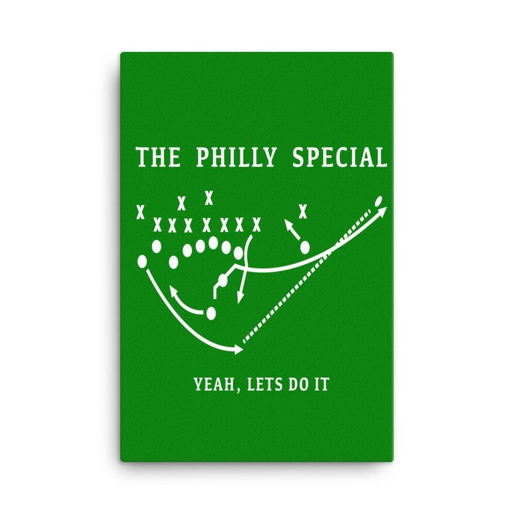 The Philly Special Canvas Philadelphia Wall Art Canvas Art