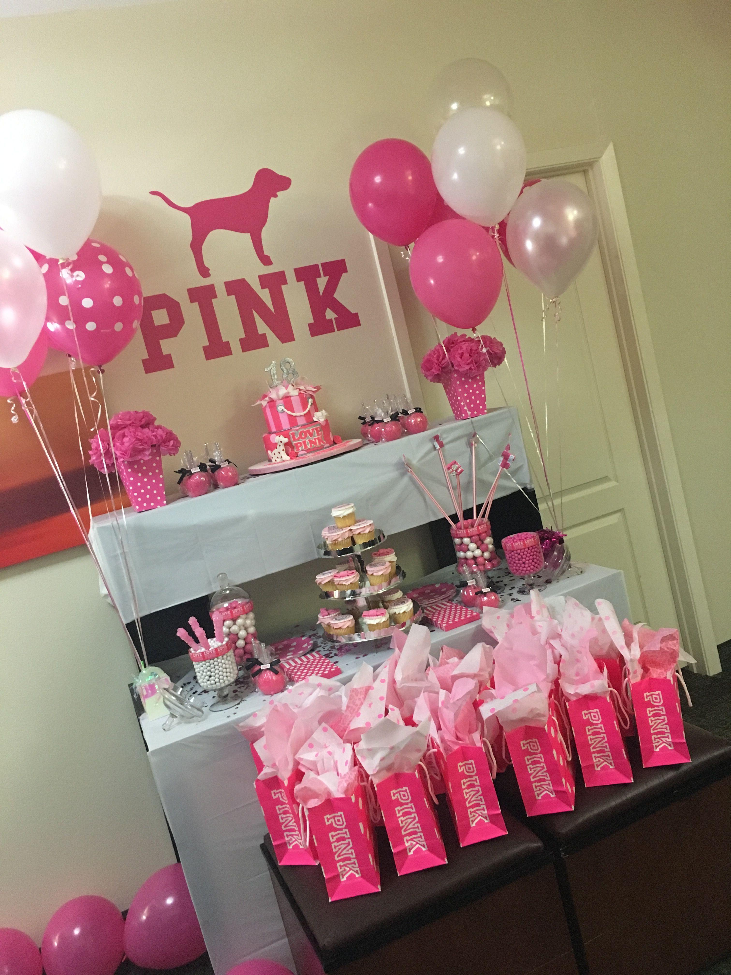 Idea Sweet 13th Birthday Party