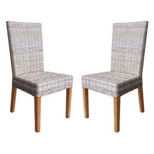Rattan Living Rio Wicker Chair - Set of 2 Image