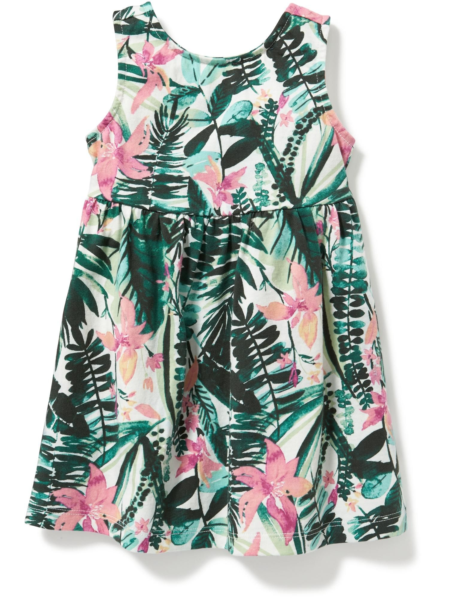 Old Navy tropical dress Perfect for Miss Muffet and Hush