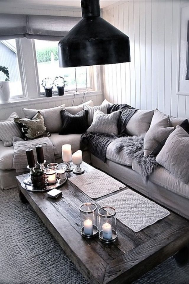 Grijze Bank  House Ideas  Pinterest  Living Rooms Room And House Pleasing Grey Living Room Design Inspiration Design