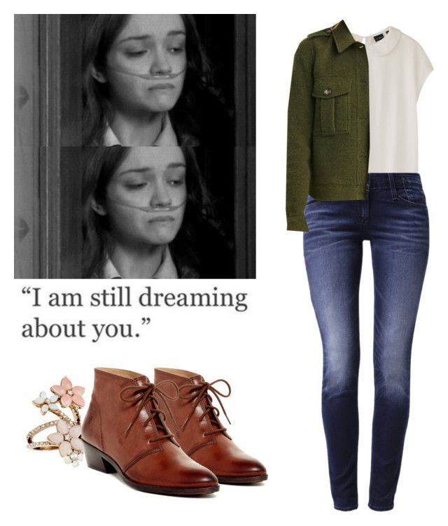 Emma Decody - Bates motel by shadyannon on Polyvore featuring polyvore fashion style Uniqlo Forever 21 Levi's Frye Accessorize clothing
