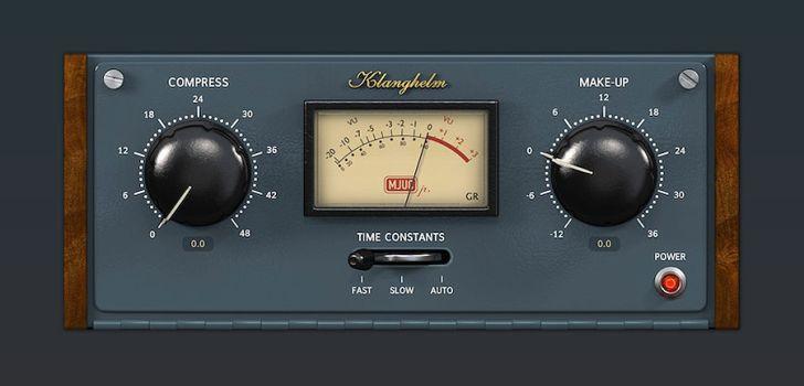 Klanghelm Releases Mjuc Jr Free Compressor Plugin Music Software Time Constant Variables