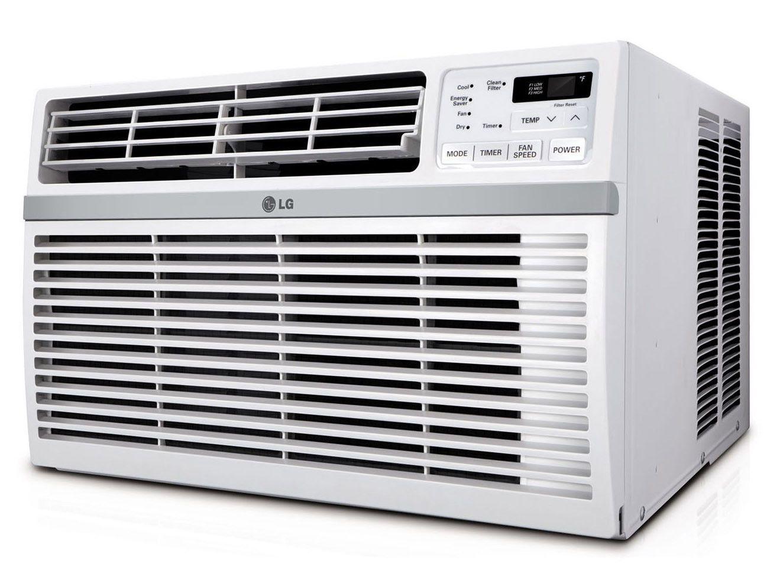 LG LW1516ER 15,000 BTU 110V Window A/C Remote & Window