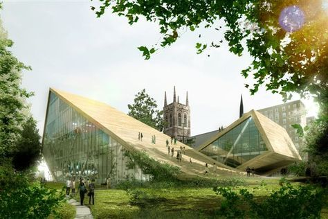 big architecture   BIG + Fugére Architects National Museum of Fine Arts – Expansion ...