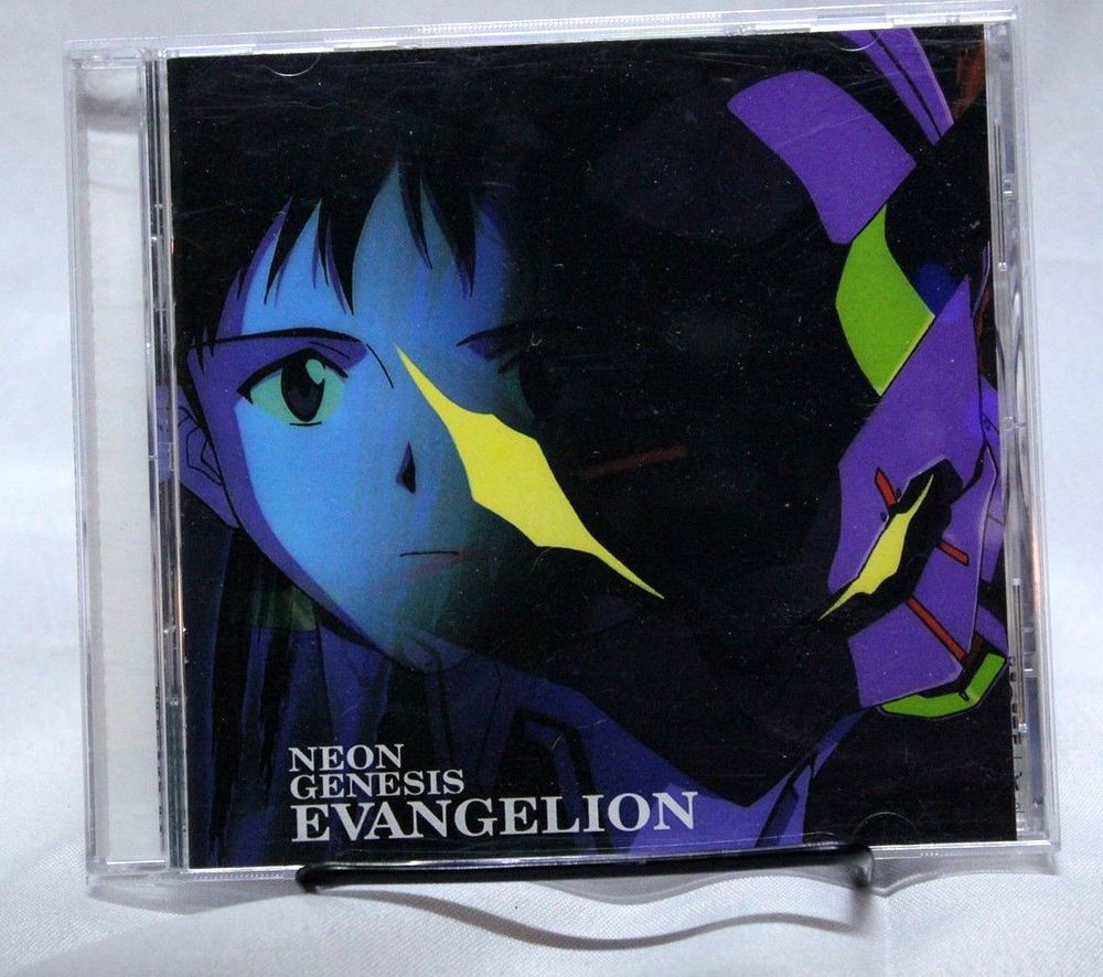 Neon Genesis Evangelion Soundtrack Music CD OST Geneon Pioneer