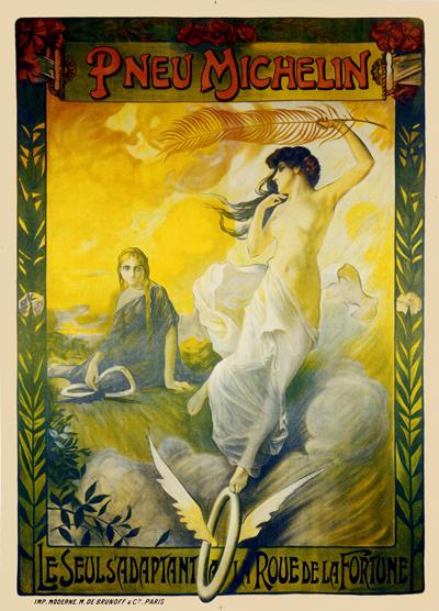 Cartaz publicitário de 1897