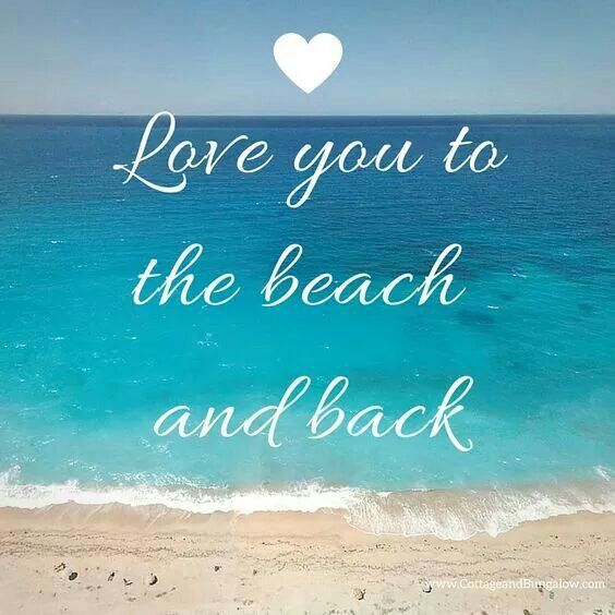 Quotes About Ocean: It's How Much I Love The Beach