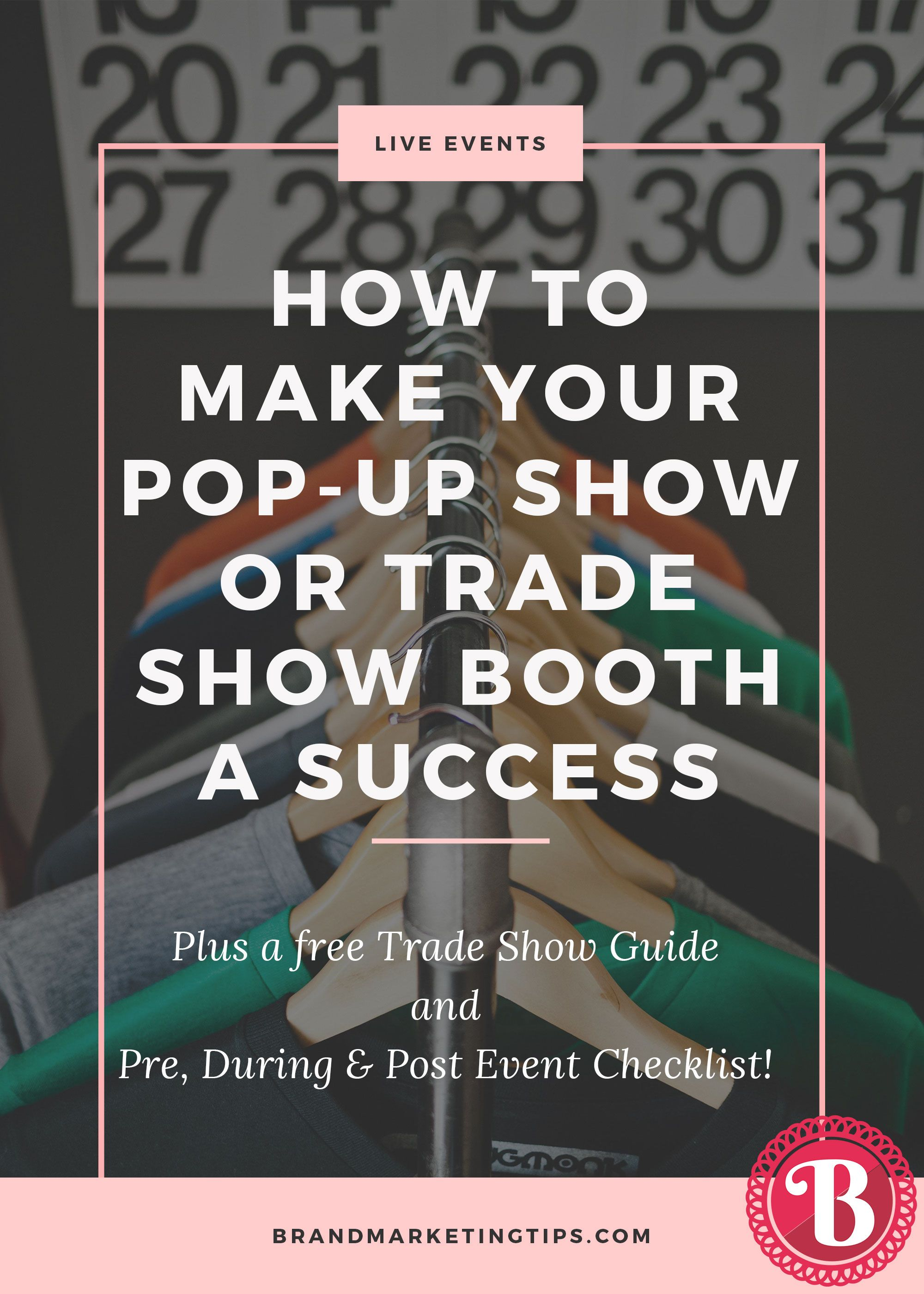 How To Make Your PopUp Show Or Trade Show Booth A Success  Event