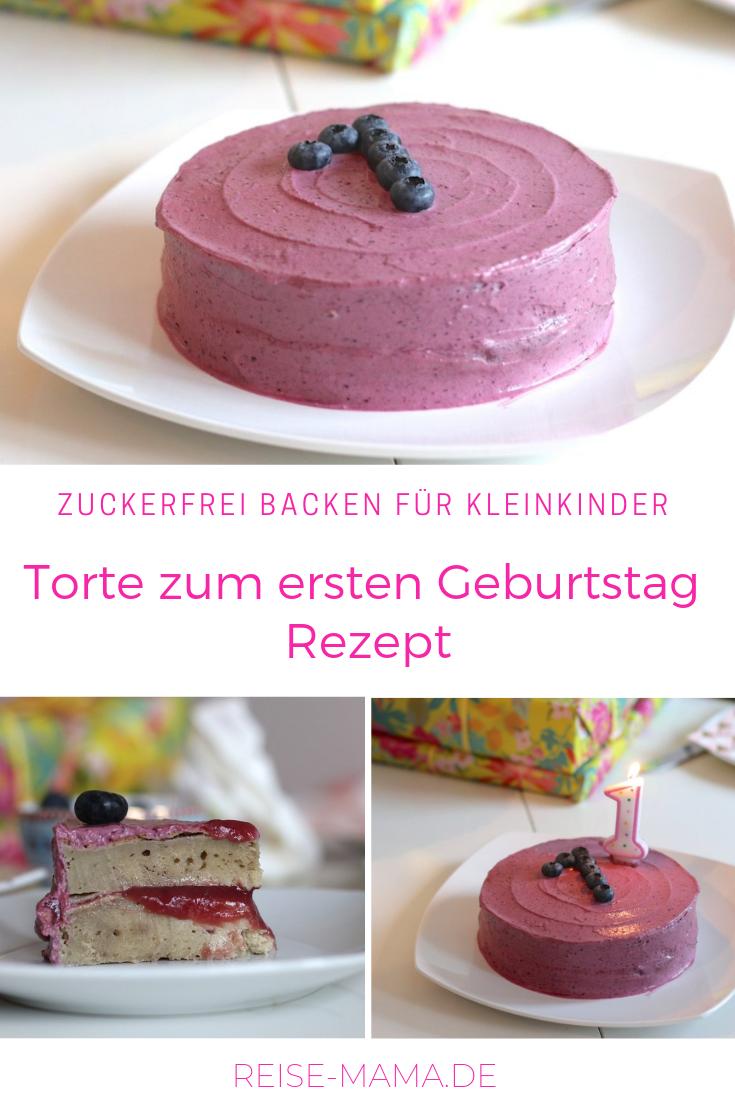 Geburtstagstorte Zum Ersten Geburtstag Kuchen Rezept Ohne Zucker In 2020 Kuchen Rezepte Ohne Zucker Geburtstagskuchen Kind Kuchen Baby Geburtstag