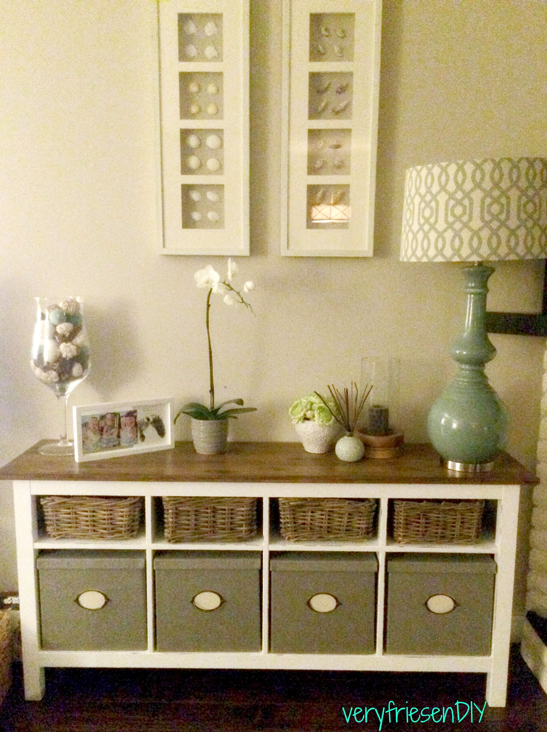 DIY: IKEA Hemnes Sideboard Makeover. Sanded, Primed, Painted And Stained.  Materials
