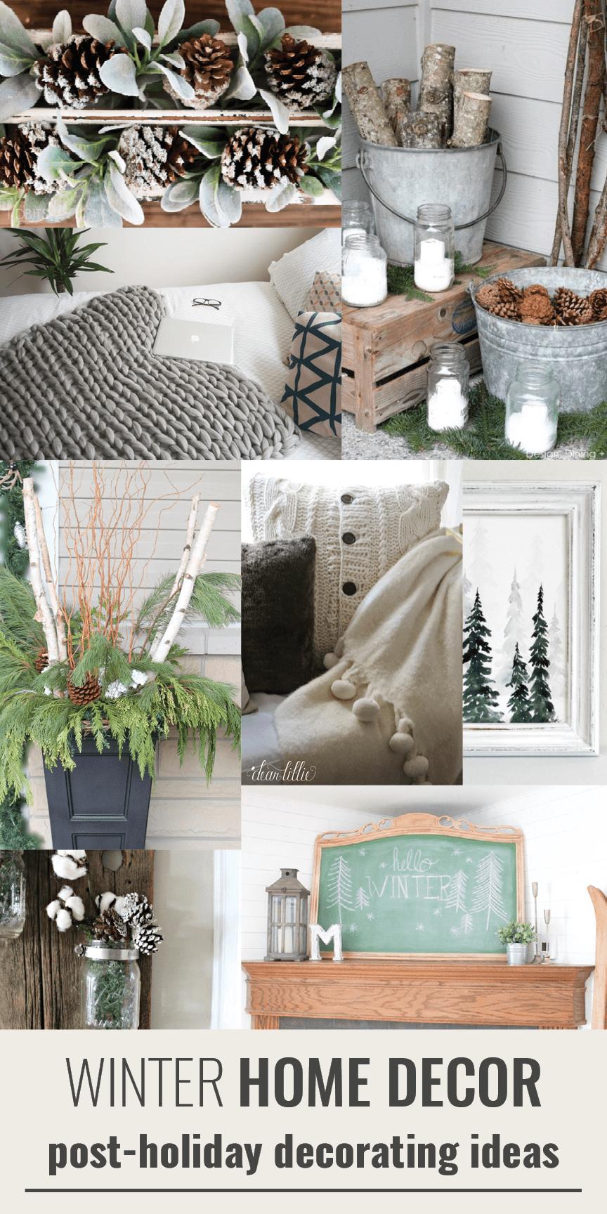 15 Winter Decor Ideas Winter Ideas Pinterest Winter Home Decor