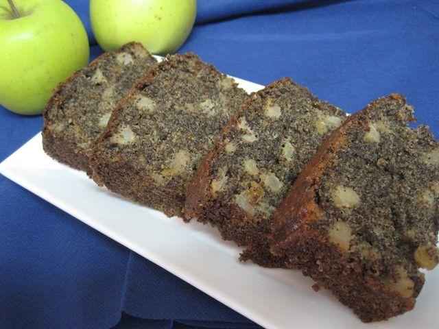 הבלוג של מירב | עוגה בחושה עם פרג ותפוחים