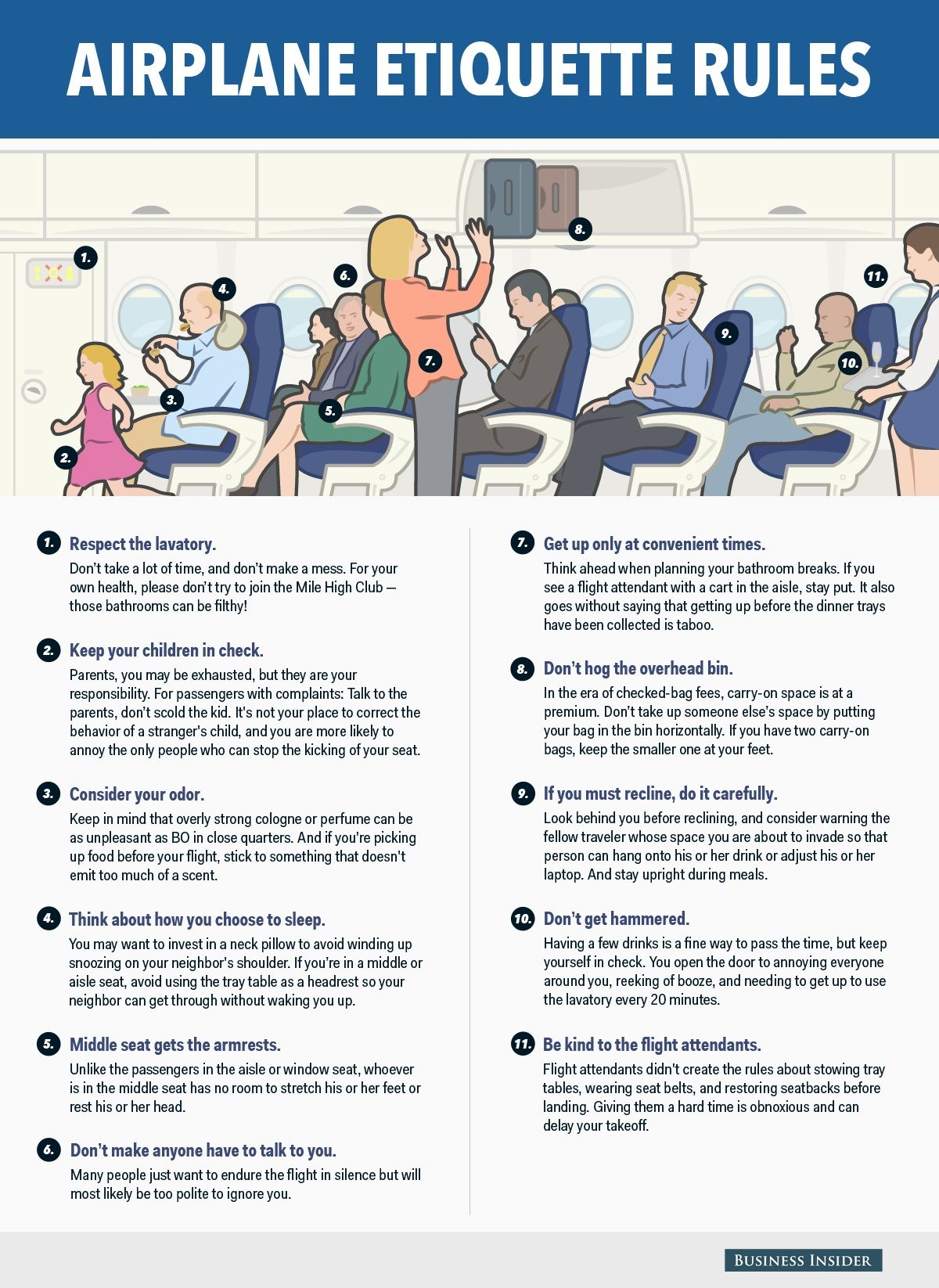 11 Air Travel Etiquette Rules That Every Passenger Should