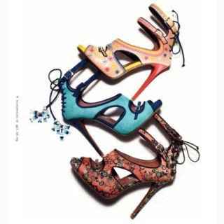 Tabitha Simmons - gotta love a fabulous shoe.  Okay, I do!