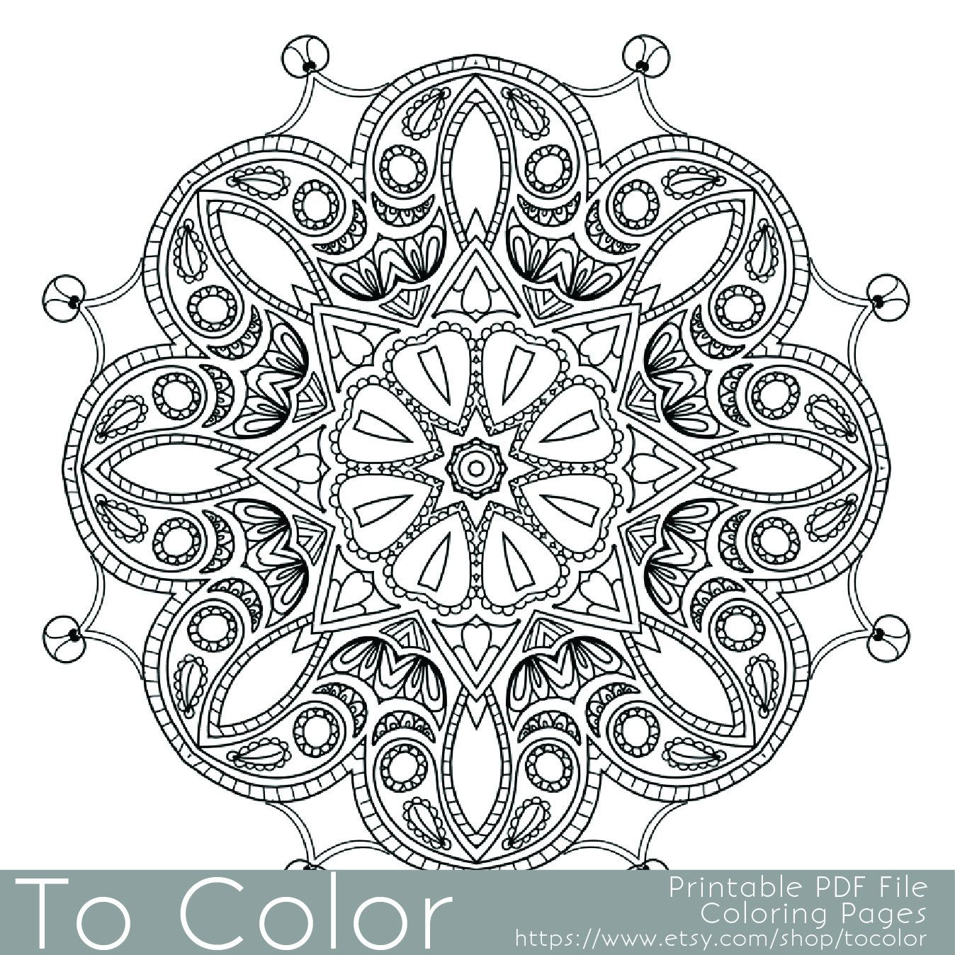 Intricate Printable Coloring Pages For Adults Gel Pens Mandala Pattern Pdf Jpg Instant Coloring Pages Mandala Coloring Books Coloring Pages For Grown Ups