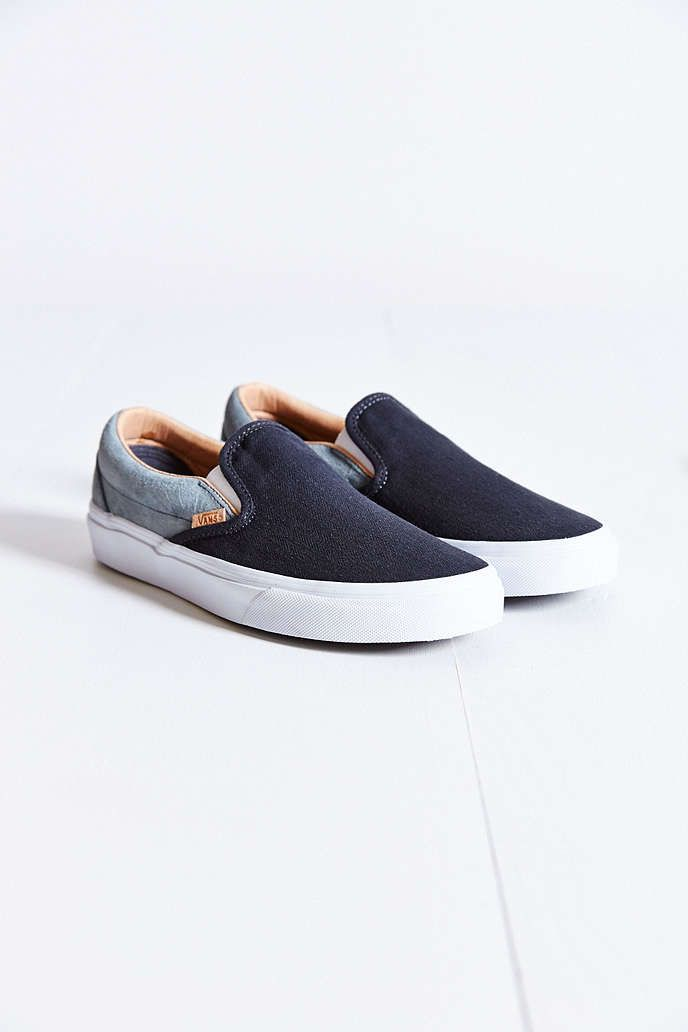 Vans Classic Knit Suede Slip-On Sneaker