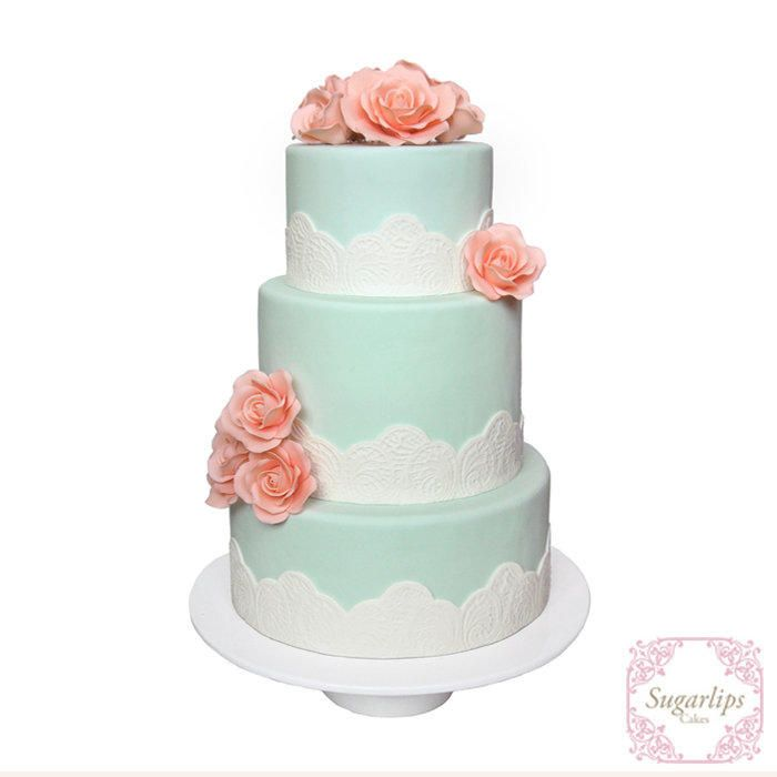 Mint - Cake by Sugarlips Cakes