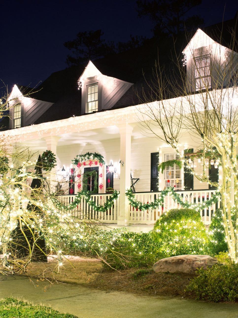 easy outside christmas lighting ideas. 20 Outdoor Holiday Lighting Ideas That Dazzle Easy Outside Christmas H