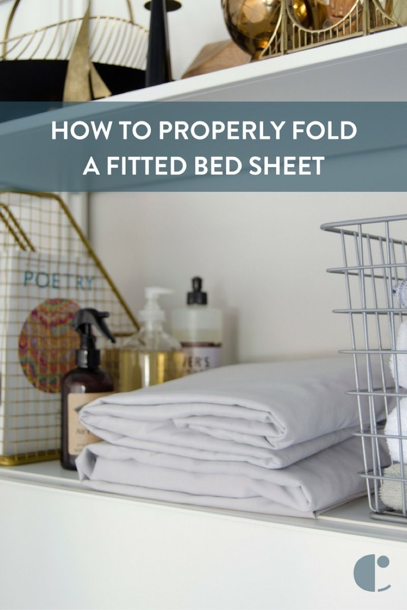 How To Be An Adult And Learn To Actually Fold A Fitted Sheet
