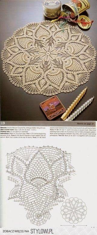 stylowi_pl_hobby_21114351.jpg (321×778) | Crochet Umbrella ...