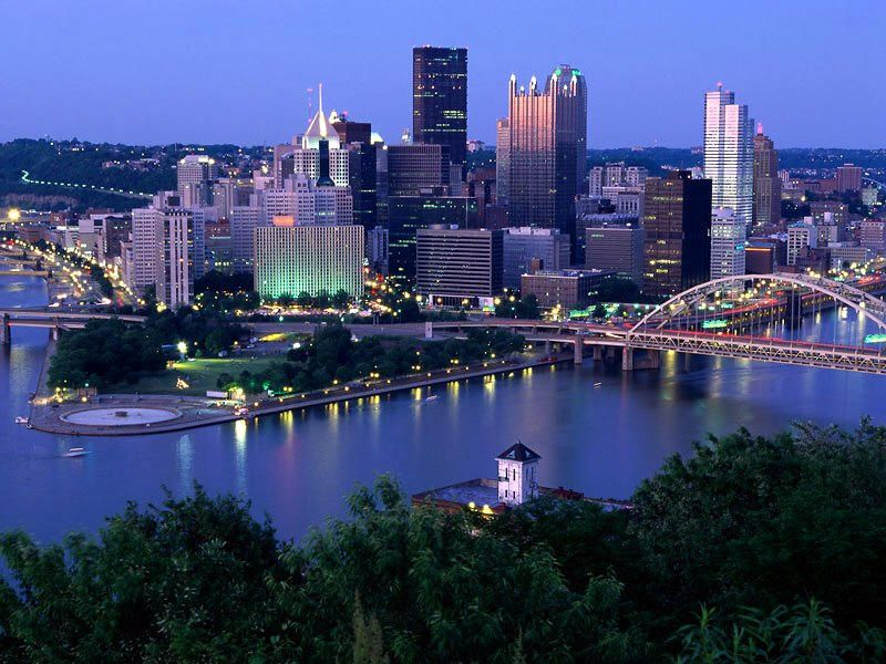 Pittsburgh love the 3 rivers