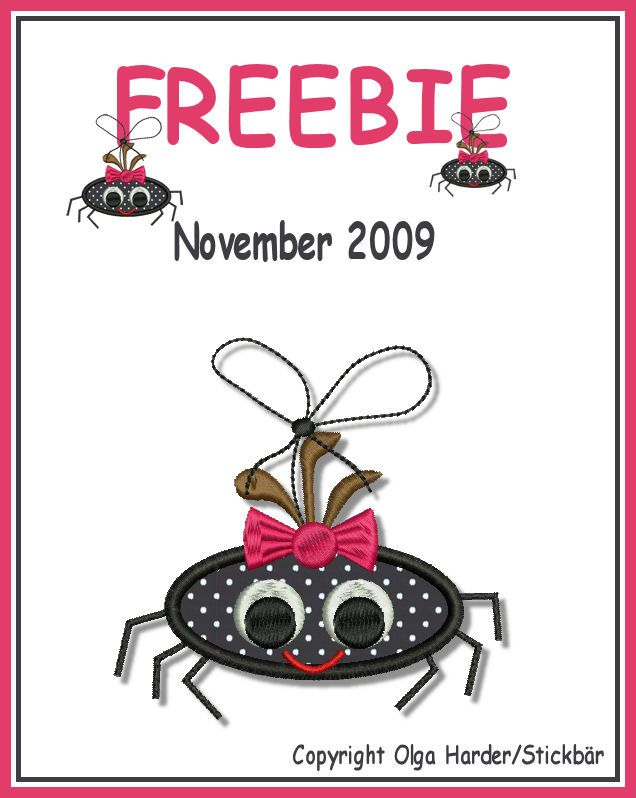 Freebie f r halloween und anderes gegrusel applikationen - Stickerei applikationen ...