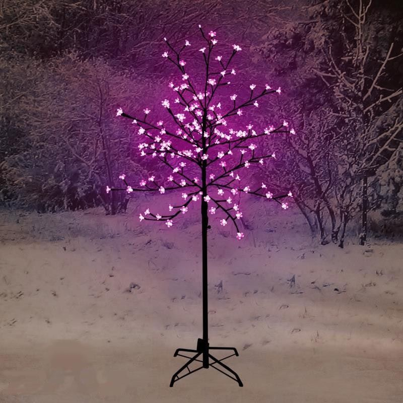 1 8m Christmas Cherry Blossom Tree With 180 Pink