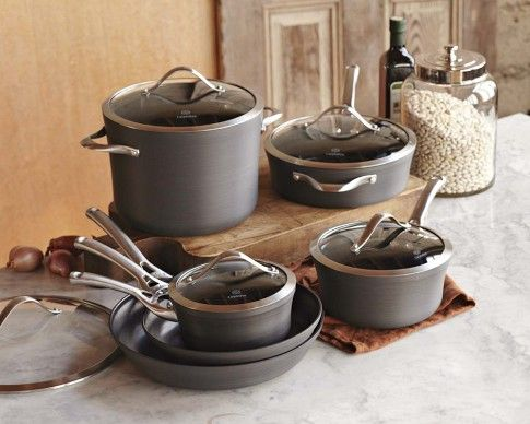 Calphalon Contemporary Nonstick 11 Piece Cookware Set Cookware Set Calphalon Contemporary Cookware Set Best Calphalon contemporary nonstick 11 piece cookware set