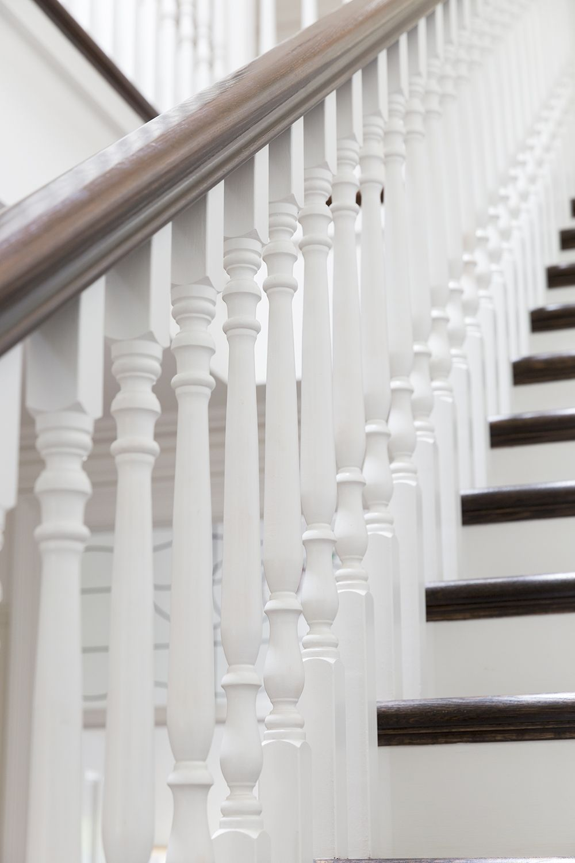 Stair Traditional Stair American Oak Bullnose