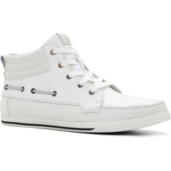 Sneakers | Boat shoes mens, White shoes