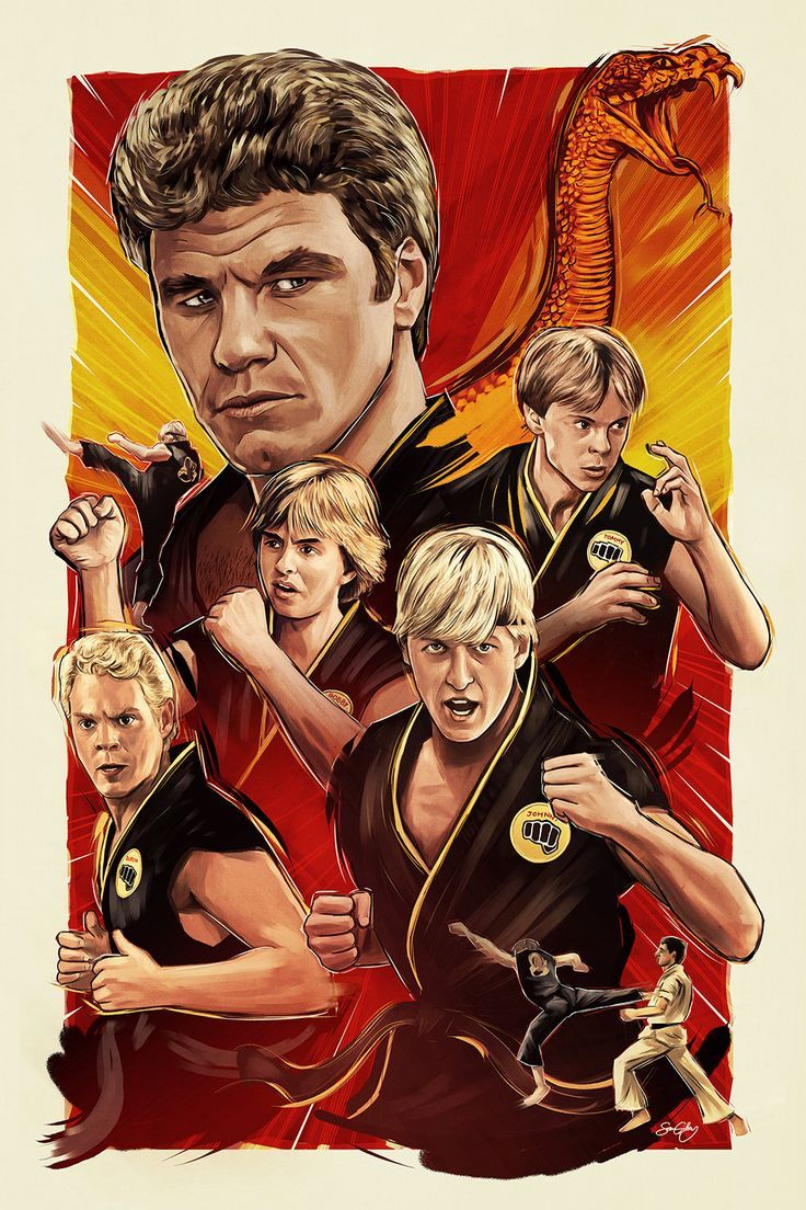 16+ Cobra kai coloring pages info