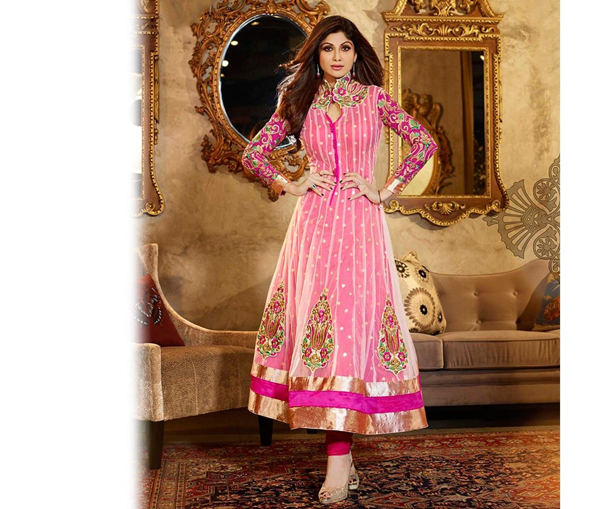 Magenta anarkali suit dress pinterest anarkali anarkali suits