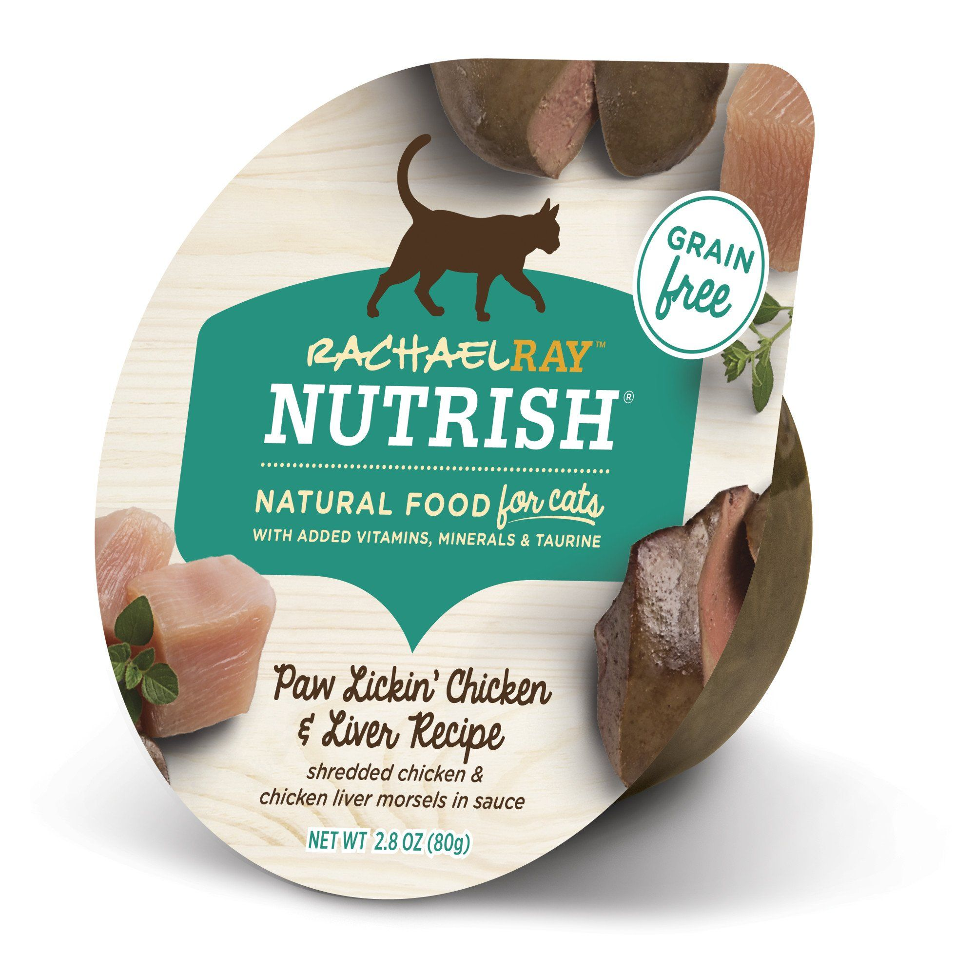 Rachael Ray Nutrish Natural Grain Free Paw Lickin Chicken Liver
